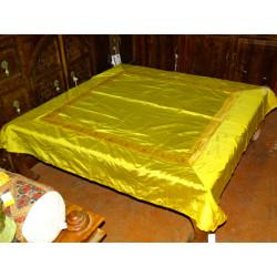 Schermo rilievo dipinto (arancione e blu)