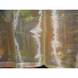 Set di 2 pilastri verniciato goffrato