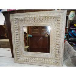 Acqua vaso dipintoe mano turchese (GM)