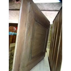 Acqua vaso dipintoe mano turchese (MM)