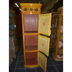 Copricapo di letto d oro - rosso