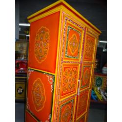 Manico in bronzo animal musicista tamtam vert