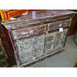 Acqua vaso dipintoe mano nero (GM)