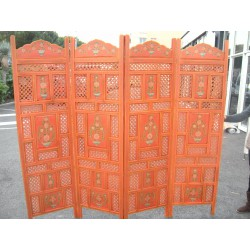 Schermo Rotonda elefante oro / arancio