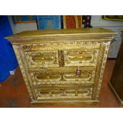 Porta scolpita in legno di palissandro
