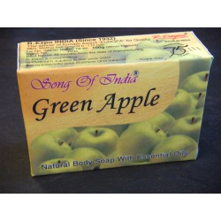 Savons indianos Green Apple (100 Grs)