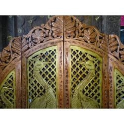 Taffettà tovaglie di broccato 150x225 cm verde chiaro