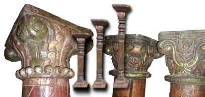 pilastri indiani