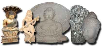 Statue indiane