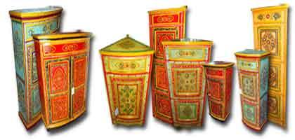 Mobili dipinti indiani