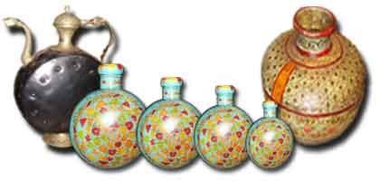 Pentole , zucche , vaso indiano
