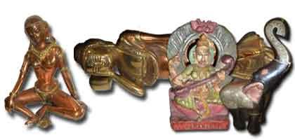 Statuette , ornamenti